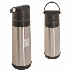 10 Customized 16oz Vacuum Bottle wireless Bluetooth Speaker with your Logo Text