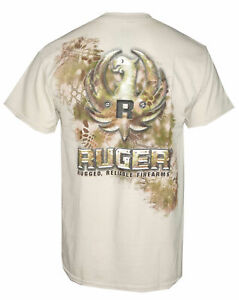 Ruger Metal T Shirt Mens Sandstone 600 2067 S M L 3XL New with tags $12.99