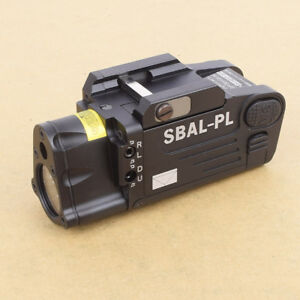Original Tactical Light SBAL-PL 500 Lumen LED Flashlight Strobe Red Laser
