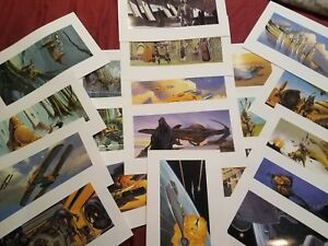 Star Wars  lithograph collective 20 prints
