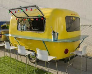 Scamp Vending or Camping Trailer