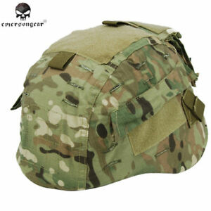 Emerson Helmet Tactical Cover Combat Military Mich 2002 Camo Army Outdoor Sports