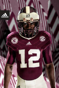 adidas Techfit Shockweb Football Jersey compression shirt Texas A