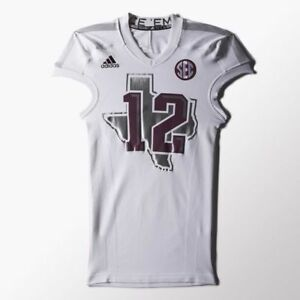 adidas Techfit Shockweb Football Jersey compression shirt 12 Texas A