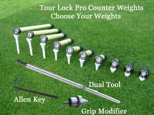 Tour Lock Pro Limited Time Sale Golf Counter Weights Choose Your Weights