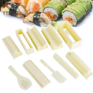 Sushi Maker Rice Mold Cooking Tools Set Ball Roller Rolls High Quality Sets