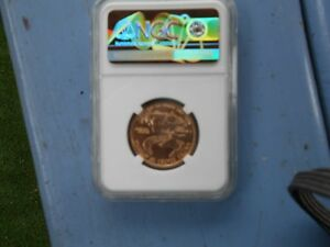 Top Pop!!!!!!  Very Rare MS70 1998 $25 Eagle - NGC listed at $17250