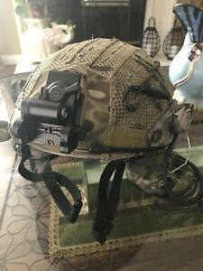 Crye Precision Airframe Helmet Authentic 1st. SFG ODA SNIPER Combat Deployment