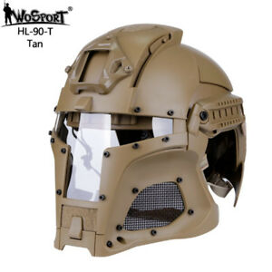 Outdoor Sports Army Combat Airsoft Paintball Tactical Helmet Hunting Shooting