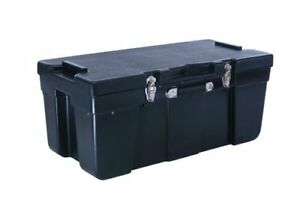 Locking Toolbox Storage Trunk Waterproof Truck Stacking Durable No Dent Rust New