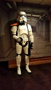 Life Size Stormtrooper on Flexible Mannequin Full Body Armour with E-11 Blaster