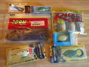 Lure Lot Yum Spro Zoom Strike King Rage Tail FLW Lures Fishing Lures toads