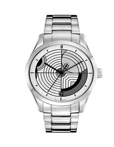 Bulova Men's 96A130 Quartz Frank Lloyd Wright Silver-Tone Bracelet 40mm Watch