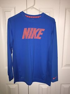 Boys (Youth) Nike Long Sleeve Dry Fit Shirt  ~ Size XL