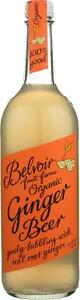 BELVOIR ORGANIC GINGER BEER Pack of 12 25.4 FZ