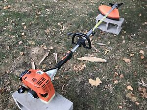 STIHL FS85T Commercial Attachment Capable String Trimmer  KM85 -  SHIPS FAST