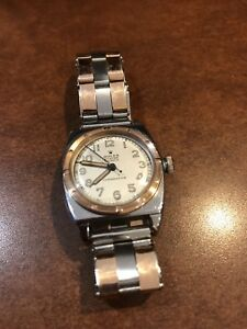 Rolex Oyster Chronometer Viceroy Watch 3359 Cal 10 12N 1940's Vintage
