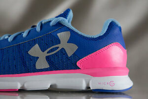 UNDER ARMOUR Micro G Speed Swift shoes for girls NEW US size (YOUTH) 5