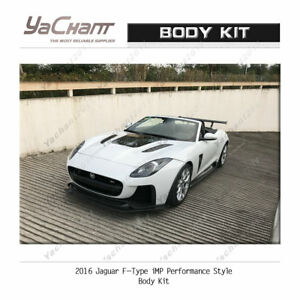 FRP Body Kit For 2016 Jaguar F-Type iMP Performance Hood Bumper Lip Spoiler etc.
