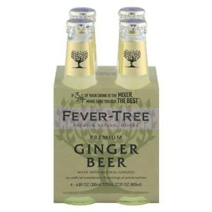 FEVER TREE GINGER BEER Pack of 6 4 6.8 FZ