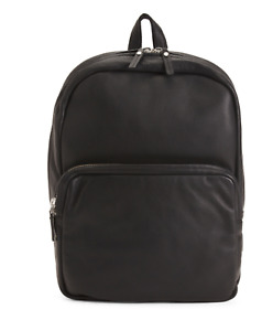 NEW! $498 Marc By Marc Jacobs Men's Classic Leather Backpack in BLACK