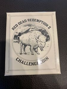 Red Dead Redemption 2 Collectors Item Challenge Coin only
