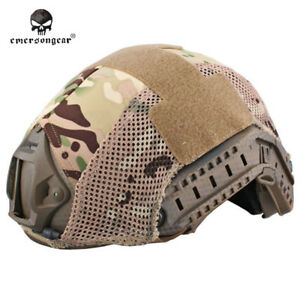 EMERSON Tactical FAST Helmet COVER Combat Duty Airsoft Military MultiCam Camo