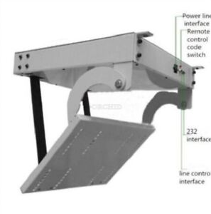 Remote 32 42 46 55 60 Inch 3D Lcd Tv Ceiling Lift Hanger Electric Genuine Tur ci