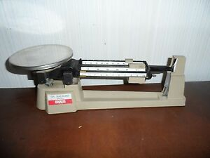 Ohaus Triple Beam Scale 2610g Mechanical Balance Lab Analytical Weighing
