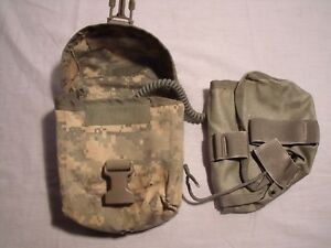 US Military ACU Digital Camp IFAK First Aid Pouch with insert & Cord  ! B28