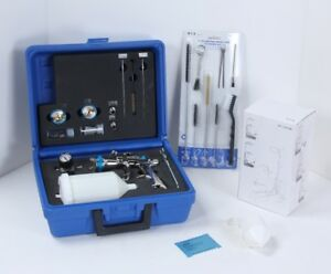 QualSpray AM-5008/S LVLP Spray Pkg  for Stains, Sealers & Clears w ACCESSORY KIT