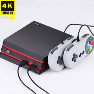 Retro Game Console HDMI TV Video Classic 300 Built-in Games With 2 Controllers