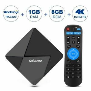 Smart TV Box RK3229 DOLAMEE D5 Android 5.1 4K 1G+8G Quad Core HD Media Player MA
