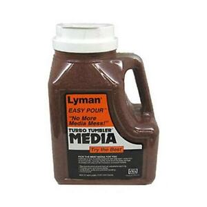 Lyman  7631396 Turbo Tufnut Cleaning Media 7 Pounds Easy Pour Container
