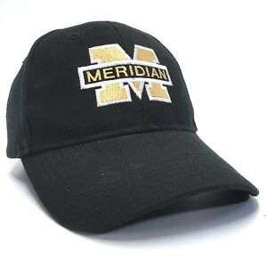 MERIDIAN Embroidered Black Snapback Cap Baseball Hat Letter M Lid top Cover   p2
