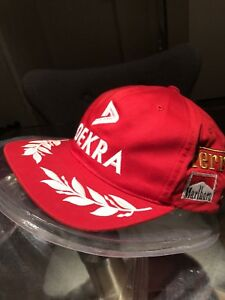 Dekra Ferrari F1 Formula One Snapback Trucker Hat Michael Schumacher Collection