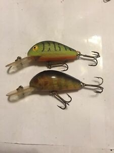Rebel Super R Lures Lot Of Two