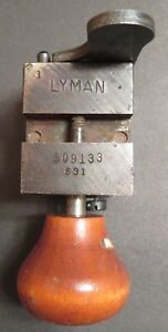 Lyman Hollow Point Single Cavity 509133 Bullet Mold Mould