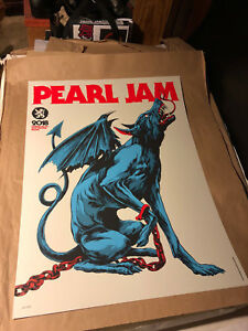 Pearl Jam Poster - Werchter 2018 - Taylor AP