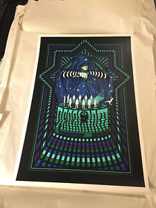 Pearl Jam Poster - 2013 Worchester - KLAUSEN