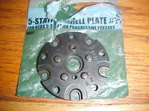 RCBS 5 Station Progressive Press Shell Plate #27 for 10mm & 40 S&W
