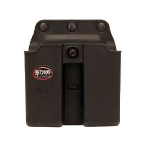 Fobus 6911NDBH Double 9mm.40 Single Stack Magazine Black Belt Pouch