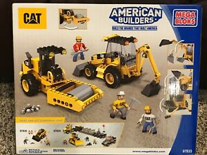 NEW MEGA BLOKS 97833 CAT Roadbuilding Unit 332 pieces lego construction set
