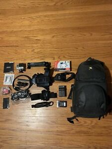 Go Pro Hero 4 Siver Bundle! Backpack with Extra's!