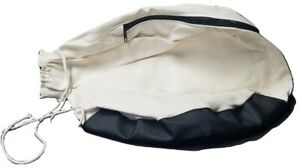 Edger Dust Bag- Vinyl Bottom w/ Zipper for Clarke S7R, B2, Silverline SL-7