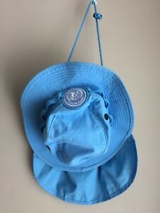 Blue Bonnie Hat & Neck Flap Badge Canadian Forces UN Peacekeeping Size 6-34 S
