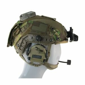 RAPTOR OPS CORE FAST BUMP (POLYMER) SF HELMET COVER Tactical Army