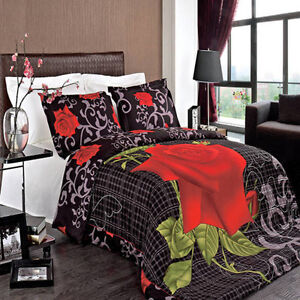 3PC Hayden 100% Combed Cotton 300 Thread Count Printed Duvet Cover