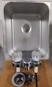 Hand Wash Sink, Large Size For Portable Concession Sink,  1 Compartment