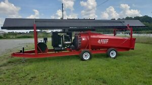 McPherson Systems Inc. M30G M40G Trench Air Curtain Destructor Pit Burner